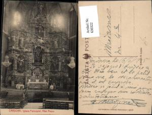 630322,Cardona Iglesia Parroquial Altar Mayor Kirche Innenansicht Spain