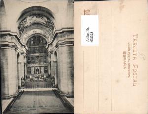 630323,Monasterio del Escorial Interior de la Iglesia Kirche Kloster Innenansicht Spain