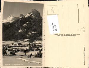 630398,Foto Ak Reutte i. Tirol Gehrenspitze Winteransicht pub Risch-Lau 11260