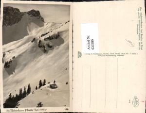 630399,Foto Ak Am Hahnenkamm b. Reutte Tirol Winteransicht