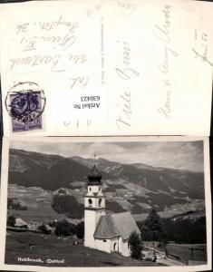 630423,Foto Ak Hohlbruck Hollbruck Kartitsch Osttirol Kirche