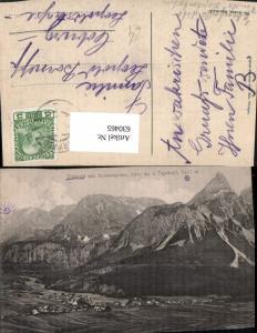 630465,Ehrwald m. Sonnenspitze u. Tajakopf