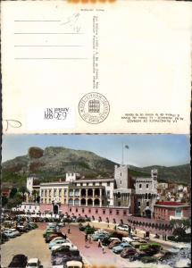 630894,Foto Ak La Principaute de Monaco Le Palais du Prince a l heure de la releve de la Garde Palast