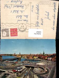 630947,Stockholm Slussen utsikt fran Katarinahissen Sweden