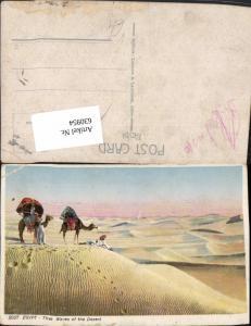 630954,Egypt The Waves of the Desert Kamel Ägypten pub Lehnert & Landrock 2057