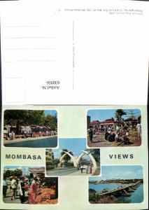 630956,Mehrbild Ak Mombasa Views Kenia Africa
