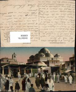 630958,Tunis La Mosquee sidi M Harez et la Place Bab-Souika Tunesien
