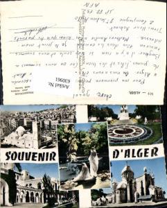 630961,Mehrbild Ak Souvenir de Alger Algier Algerien