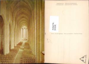 631039,Kopenhagen Kobenhavn Grundtvigskirken Kirche Innenansicht Denmark