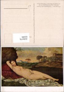 631095,Künstler Ak Giorgione Schlummernde Venus Frau Akt Nude Erotik