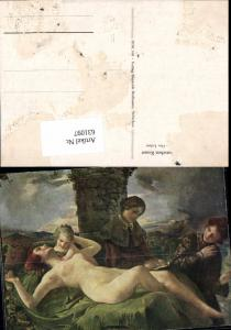 631097,Künstler Ak Das Leben Frau Akte Lesen Erotik
