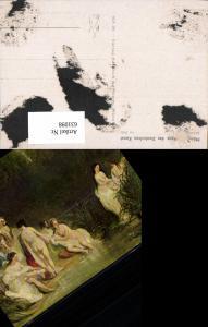 631098,Künstler Ak Andrews Im Bade Frauen Akt Nude Erotik