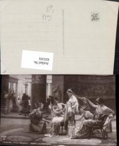 631101,Künstler Ak Emilio Vasarri Avant La ceremonie Erotik