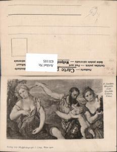 631105,Künstler Ak P. Bordone Allegorie Erotik pub J. Löwy 6