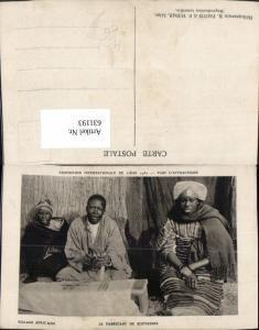 631193,Exposition Internationale de Liege 1930 Village African Volkstypen