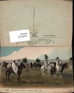 631194,Scenes et Types Cavaliers Arabes Pferde Reiten Volkstypen