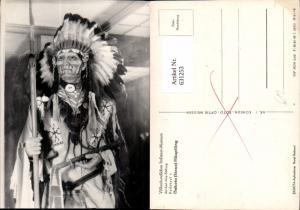631253,Völkerkundliches Indianer Museum Radebeul Dakota Sioux Häuptling
