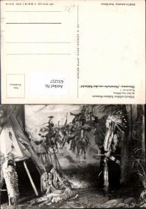 631257,Völkerkundliches Indianer Museum Radebeul Diorama Heimkehr v. d. Schlacht