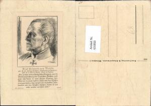 631850,Künstler Ak K. Baur Graf Helmuth von Moltke Adel Monarchie