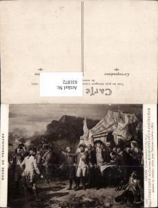 631872,Künstler Ak Couder Siege d Yorktown les Generaux Rochambeau et Washington Politik