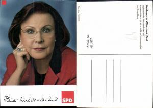 631877,Heidemarie Wieczorek-Zeul SPD Politik