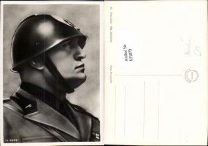631879,Benito Mussolini Il Duce Soldatenuniform Helm Politik Italy