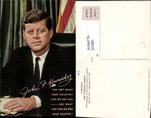 631881,John Fitzgerald Kennedy United States of America Politik