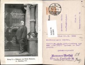 631883,Georg R. v. Schönerer a. Grabe Bismarcks Politik