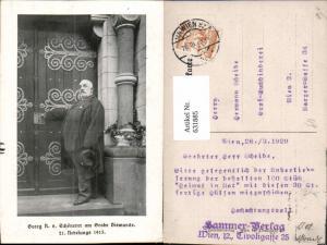 631885,Georg R. v. Schönerer a. Grabe Bismarck Politik