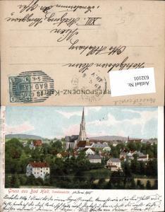 632101,Gruss aus Bad Hall bei Steyr 1905