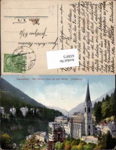 633973,Bad Gastein Badgastein Tauernbahn Kirche pub Purger Co. 12822