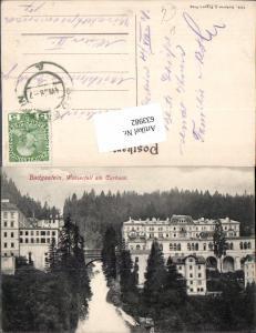633982,Bad Gastein Badgastein Curhaus am Wasserfall pub Lederer & Popper 1418