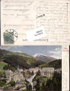 633985,tolle Künstler AK Bad Gastein Badgastein