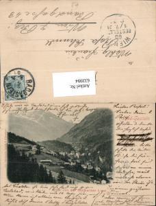 633994,Bad Gastein Badgastein v.d. Schwarzen Liesl pub Würthle & Sohn 290