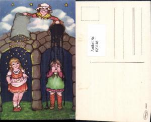 623818,Künstler AK Margret Boriss Märchen Frau Holle