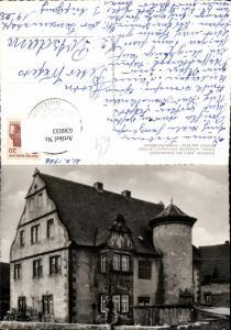 636033,Foto Ak Petersaurach-Frohnhof Frohnhofschlößchen Burg Sinngrund Spessart Rhön