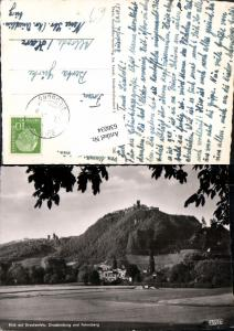 636034,Blick auf Drachenfels Drachenburg Petersburg Königswinter