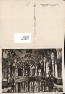 636037,Foto Ak Würzburg Residenz Hofkirche Blick v. d. Empore