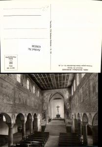 636038,Foto Ak Insel Reichenau Bodensee Oberzell St Georg Kirche Inneres