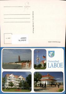 636047,Mehrbild Ak Ostseebad Laboe Kiel