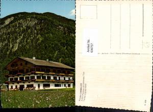 636757,Eben am Achensee Pertisau a. Achensee Pension Einwaller