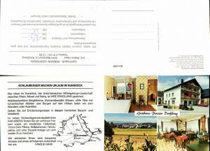 637035,Klapp-AK Maitzborn bei Kirchberg Hunsrück Gasthaus Dorfkrug