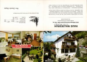 637036,Klapp-AK Willingen Hochsauerland Haus Waldesruh Iberg Upland