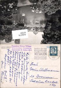 Stempel Hotel Pension Haus Witzer Wiesbaden Dotzheim n. Bremen 2