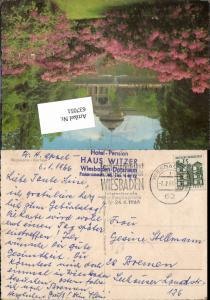 Stempel Hotel Pension Haus Witzer Wiesbaden Dotzheim n. Bremen 3