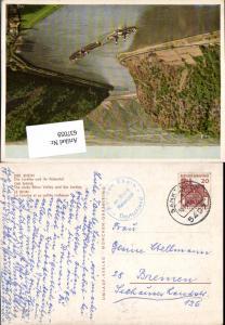 637059,Stempel Sankt Goar Rhein Dampfer n. Seehausen Bremen