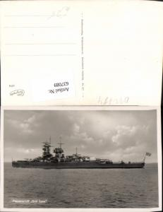 637089,WK 2 Panzerschiff Graf Spree Schiff Marine Kriegsmarine Kriegsschiff