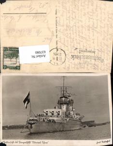 637090,WK 2 Panzerschiff Admiral Scheer Marine Kriegsmarine Kriegsschiff