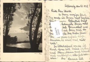 637131,Fotokunst Popp 6719-0 Schleswig 1948 Fluss Dampfer