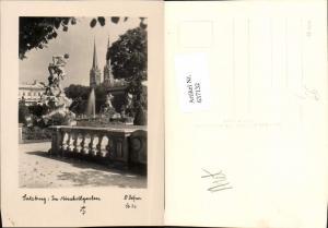 637132,Fotokunst Dr. Defner Sb 22 Salzburg Mirabell Schloss Garten